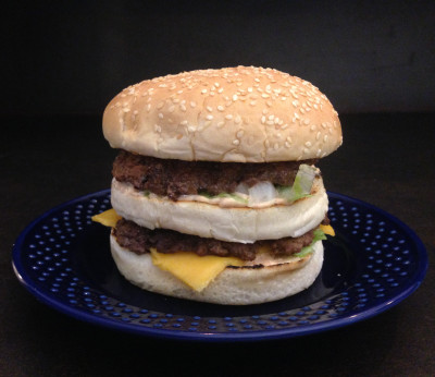 Homemade Big Mac Healthy Recipe - JamesonWolff Fitness Systems
