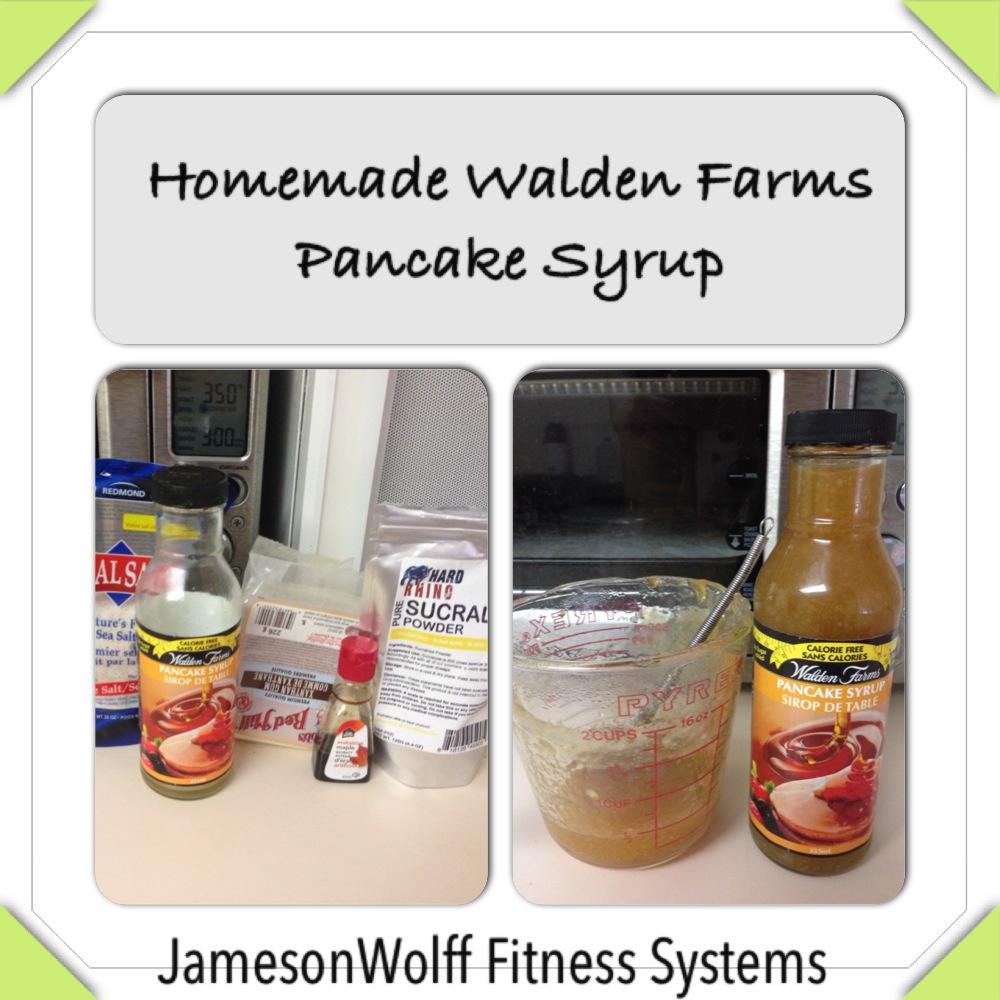 Walden Farms Pancake Syrup Packets Homemade Walden Farms Pancake
